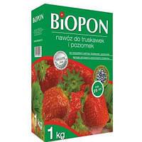 Удобрение для клубники и земляники BIOPON ( Биопон ), 1 кг
