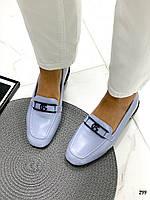 Голубые женские туфли, фото 1