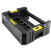 Ящик для хранения наборов в кейсах TOUGH CASE по заворачиванию и сверлению TSTAK DeWALT DT70716