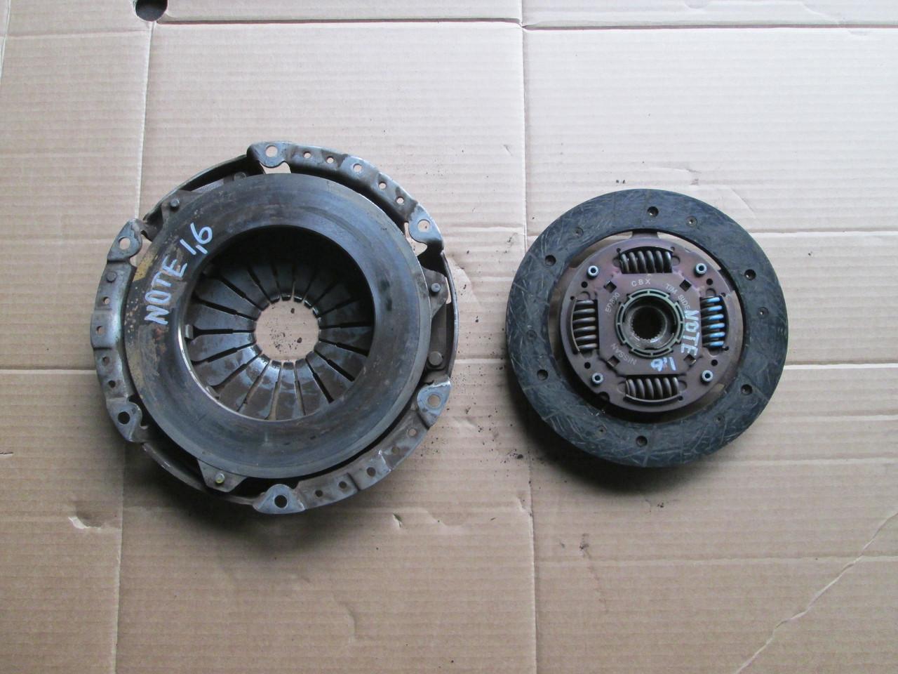 Б/у корзина сцепления + диск 1,6 для Nissan Note 2004-2013