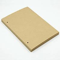 Блок крафтовой бумаги для блокнота формата B6. Крафтовая бумага формата B6