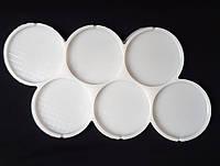 Молд силиконовый для леденцов и карамели Круги на 6 форм 5,5 см