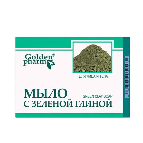 Мило із зеленою глиною Голден Фарм 70 г