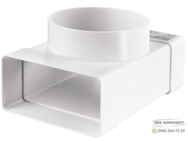 Тройник 55х110-100 для плоских и круглых каналов | ВЕНТС 531