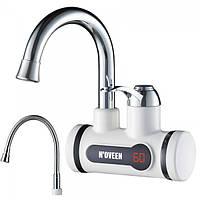 Кран с подогревом воды настенный Noveen IWH350