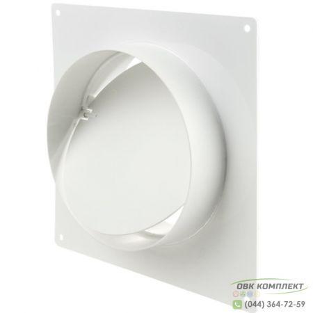 Соединитель d100 с обратным клапаном и пластиной | ВЕНТС 1511