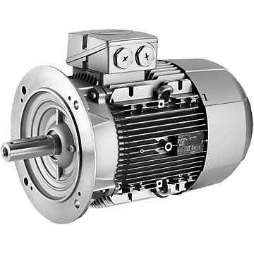 Электродвигатель Siemens 1LE1501-2DB23-4AA4 90 кВт - 1500 об/мин 1LE1501-2DB23-4GA4 (фланец)