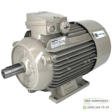Электродвигатель Siemens 1LE1002-1CA02-2AA4-Z D22 5,5 кВт - 3000 об/мин 1LE1002-1CA02-2AA4-Z D22 (на лапах)