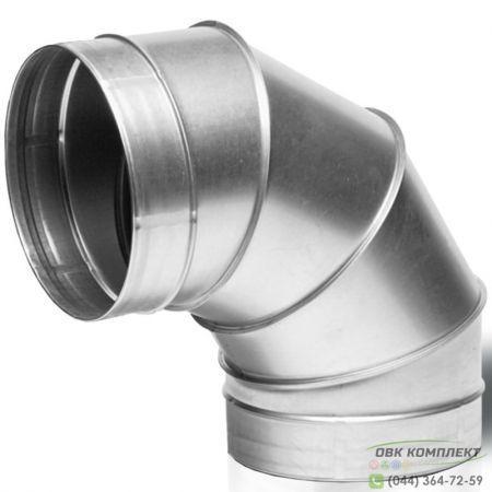 Отвод ВЕНТС 90-125 для вентиляционных каналов