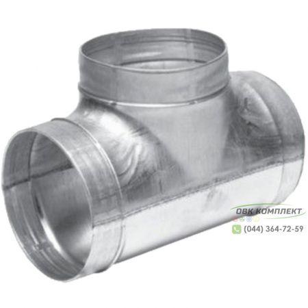 Тройник ВЕНТС 200/125 для вентиляционных каналов