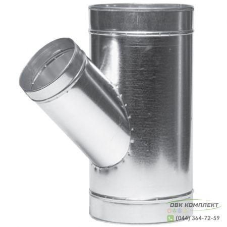 Тройник угловой ВЕНТС 355/150-45 для вентиляционных каналов