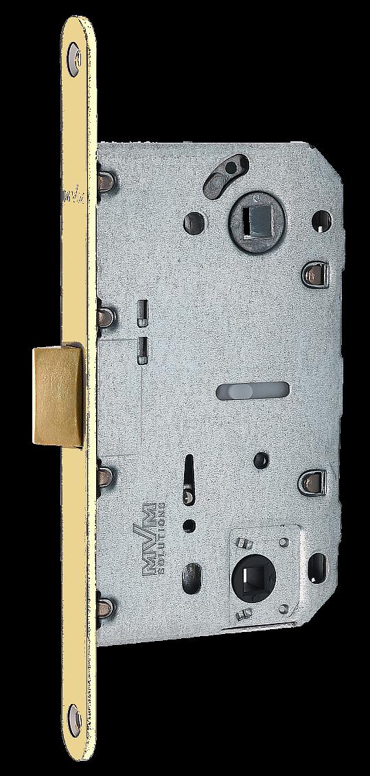 Механизм для дверей под фиксатор WC 2056  MVM золото