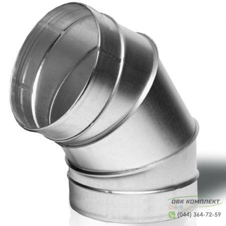 Отвод ВЕНТС 60-200 для вентиляционных каналов