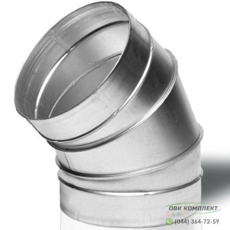 Отвод ВЕНТС 45-250 для вентиляционных каналов