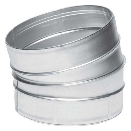 Отвод ВЕНТС 15-250 для вентиляционных каналов