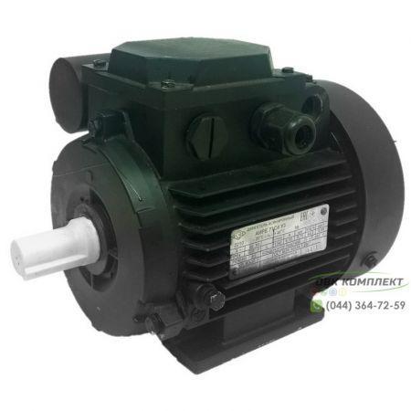 Однофазный электродвигатель АИРЕ 71 В4 (АИРЕ71В4) 0,55 кВт 1500 об/мин IM1081 (на лапах)