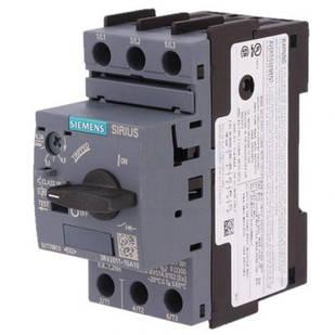 Автоматический выключатель Siemens Sirius 3RV20 11-1BA10 до 2 А 0,75 кВт