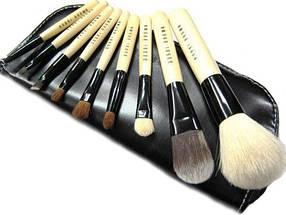Набір кистей Bobbi Brown для макіяжу 9 штук в чохлі