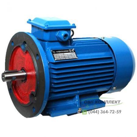 Электродвигатель АИР 160 М8 (3-фазы) | 11 кВт 750 об/мин IM2081 (комбинированный) (+5%)