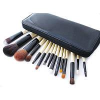 Набор кистей для макияжа Bobbi Brown 15 штук в кошельке, фото 1