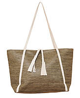 Жіноча сумка містка легка коричнева (opt-P241/2)