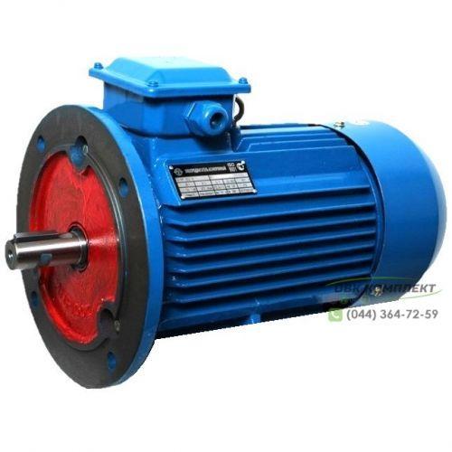Электродвигатель АИР 56 В2 (3-фазы) | 0,25 кВт 3000 об/мин IM3081 (с фланцем) (+5%)
