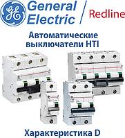 Автоматические выключатели GE HTI характеристика D