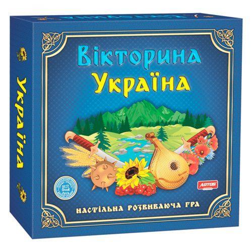 """Настільна гра """"Вікторина Україна"""" 20994"""