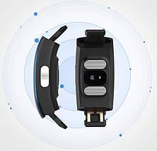 Умный фитнес браслет Blaze Fit P3 Plus с измерением ЭКГ и тонометром (Синий), фото 3