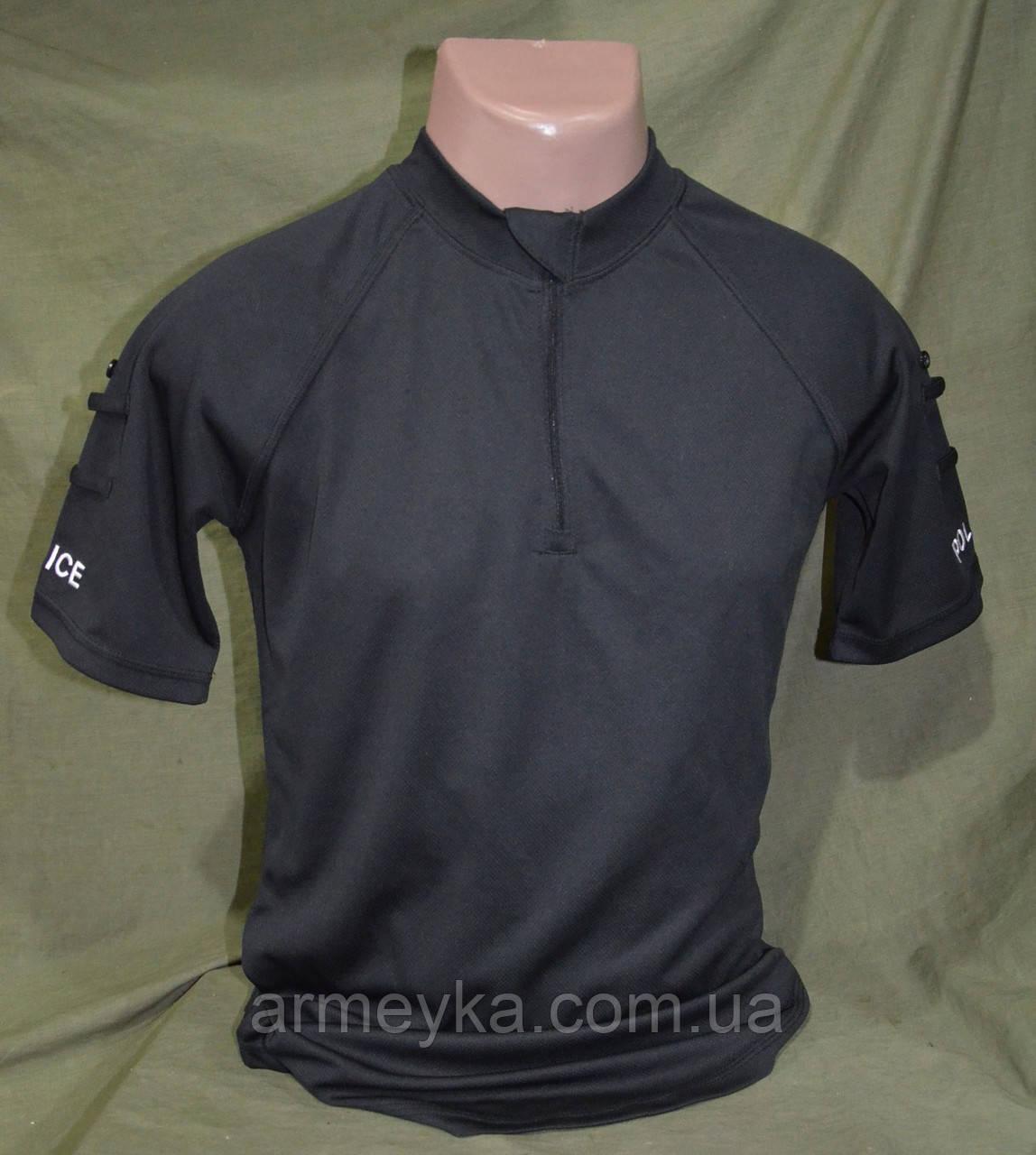 CoolMax футболка поліції Великобританії , чорна оригінал