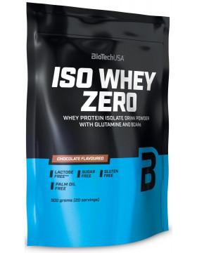Протеин Изолят BioTech Iso Whey Zero 500g КЛУБНИКА