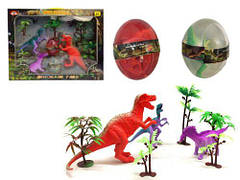 """Игровой набор """"Парк динозавров"""" + 2 лизуна в яйце 68619A-2"""