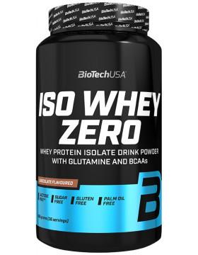 Протеїн Ізолят BioTech Iso Whey Zero 908g ВАНІЛЬ З КОРИЦЕЮ