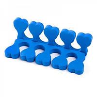 Растопырки для педикюру, сині (2 шт), фото 1