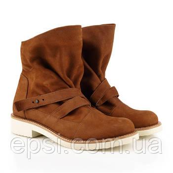 Ботинки Fatyanova Вера-2 нубук рыжие 100164-39