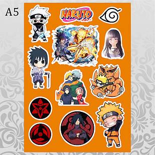 Стикеры Аниме Naruto без порезки