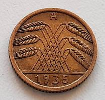 Германия 5 рейхспфеннигов 1935 А