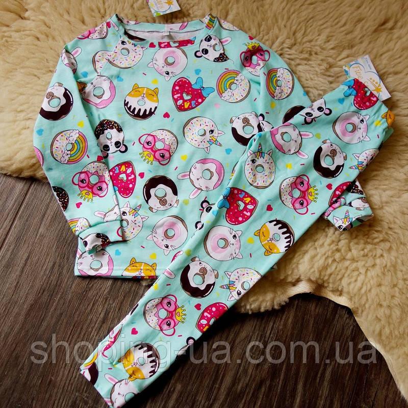 Детская пижамка пончики Five Stars KD0353-122p
