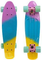 Скейт Пенни борд Penny Board 22 - Ментол 54 см пеннi борд penny
