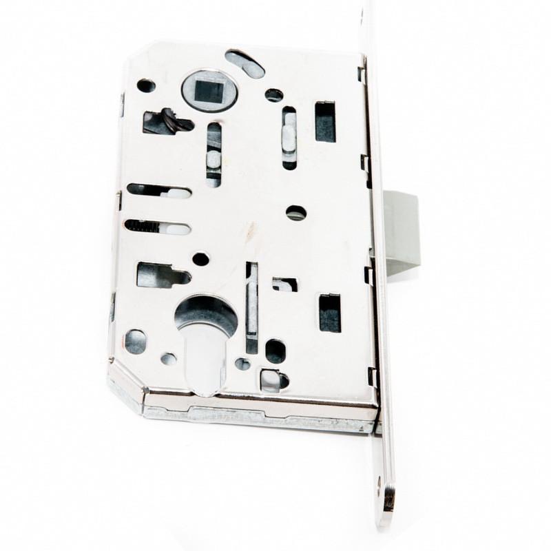 Механизм для дверей под цилиндр Safita никель