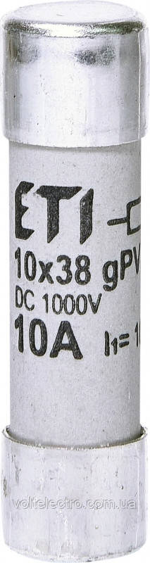 Предохранитель цилиндрический CH10x38 gPV 13A 1000V UL