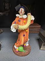 Статуэтка Veronese Клоун с гармошкой WS-675