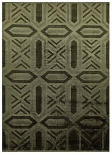 Ковер винтаж VINTAGE E3608 1,6Х2,3 Изумрудный прямоугольник