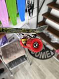 Скейт Penny Board, с широкими колесами Пенни борд, детский , от 5 лет расцветка Листья, фото 4