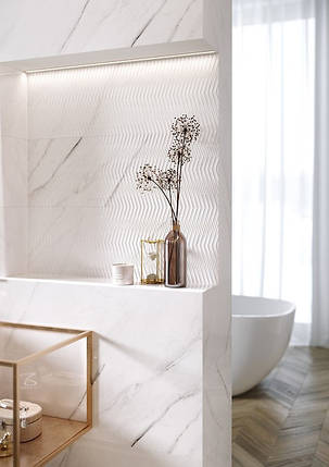 Плитка Opoczno / Carrara Chic White Glossy  29x89, фото 2
