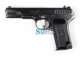 Стартовый пистолет ТТ-ТВ 1940 года охолощённый (пистолет Тульский Токарева)