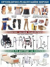 Ортопедически - реабилитационные изделия