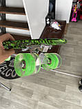 Скейт Penny Board, с широкими светящимися колесами Пенни борд, пенниборд детский , от 4 лет, Камуфляж, фото 5