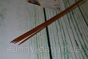 Спицы деревянные двусторонние 35см (набор 4шт) №2