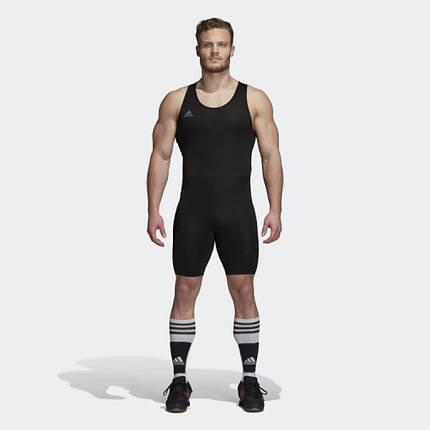Костюм для тяжелой атлетики Adidas PowerLiftSuit (черный, CW5648), фото 2